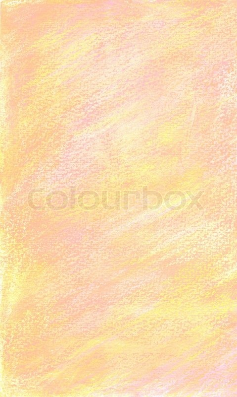Background In Soft Pink And Yellow Hand Painted In Pastel