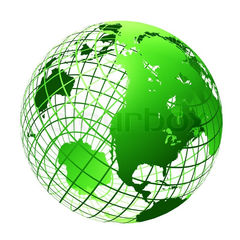 transparent the globe green color stock photo colourbox