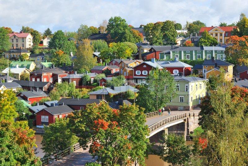 Stock image of 'Porvoo, Finland'