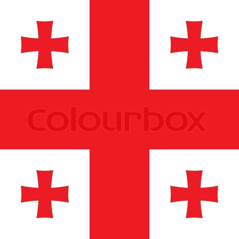 flag med kors