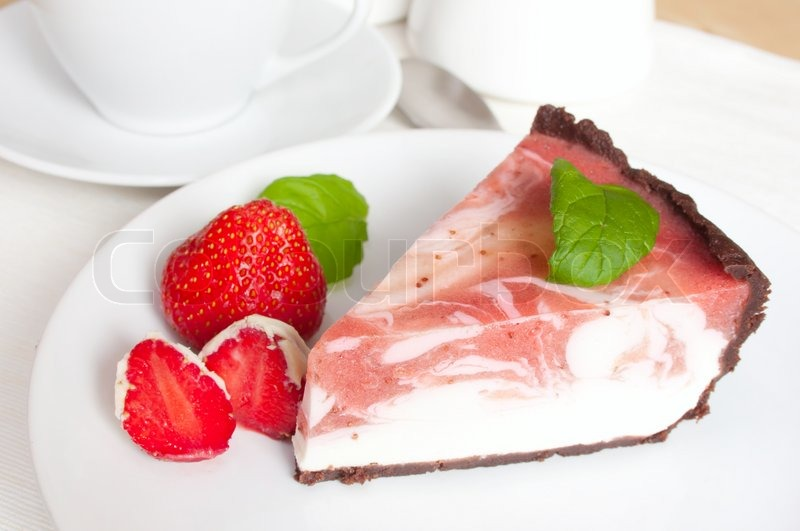 how to make homemade strawberry cheesecake