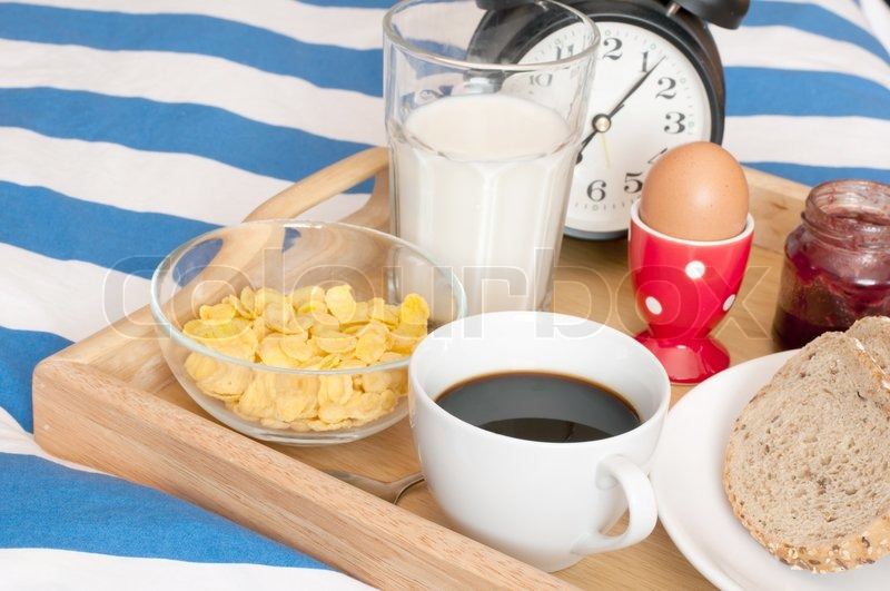 Breakfast in Bed | Stock Photo | Colourbox