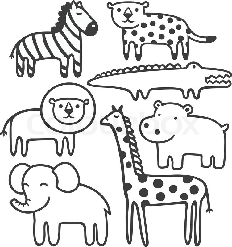 Image Result For Pete Cat Coloring Page Cute Hippo