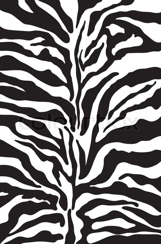 Zebra pattern vector - photo#49