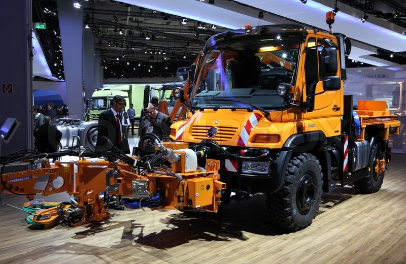 International Motor Show for Commercial Vehicles 2012 in Hannover Germany, stock photo