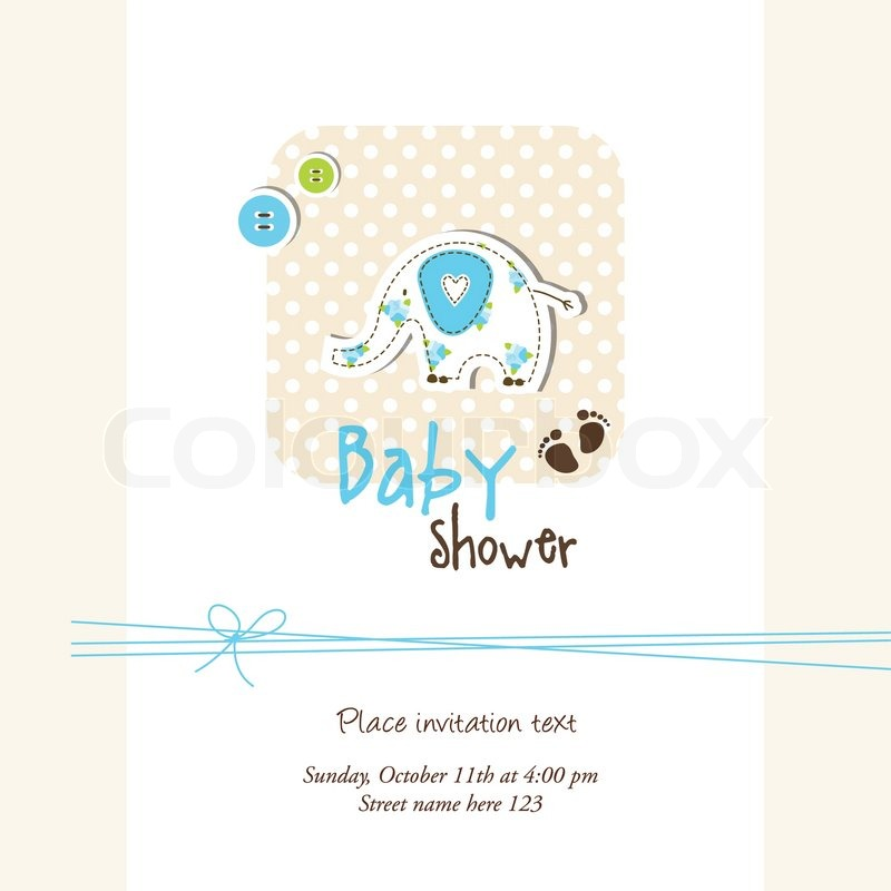 Baby Shower Wiki: Baby Shower Invitation With Copy Space