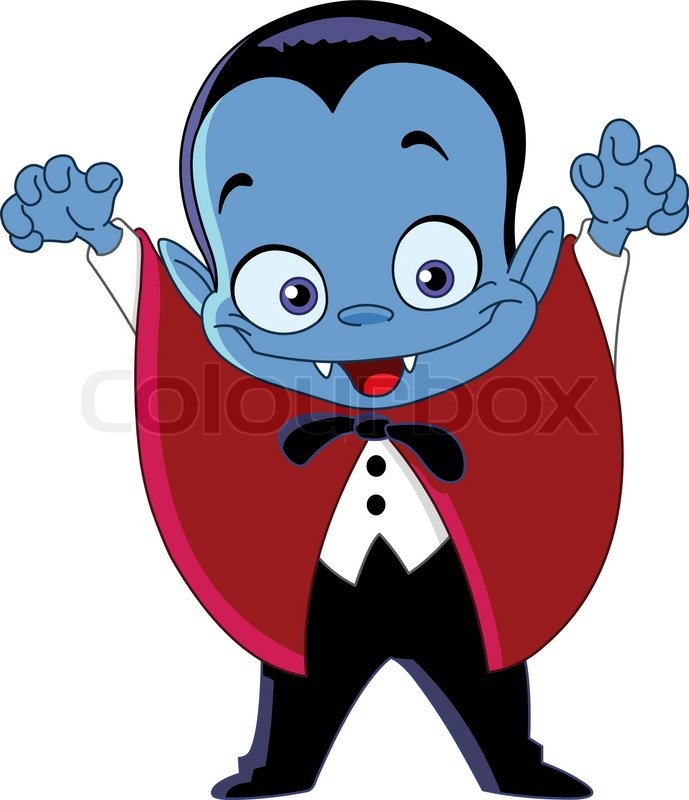 Cartoon Vampire Clipart
