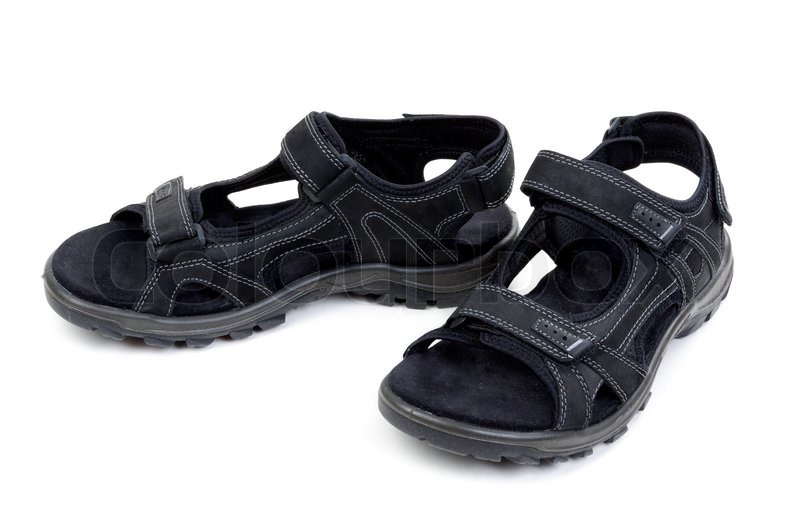 Pair of mens sandals | Stock Photo