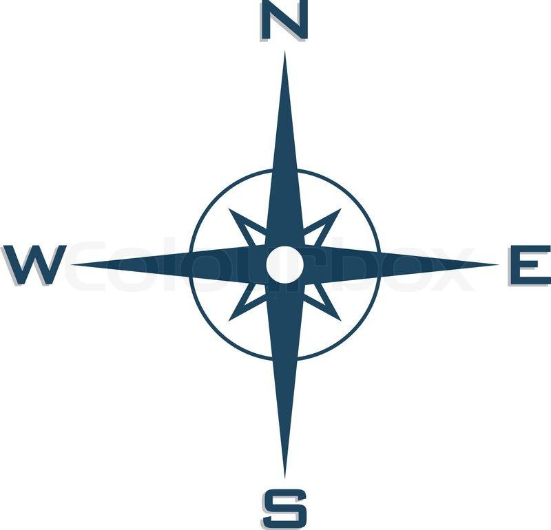 Compass   Stock vector   Colourbox