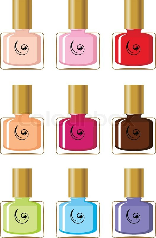 Cosmetics Brands on Bottle Brand Brown Charm Color Colorful Container