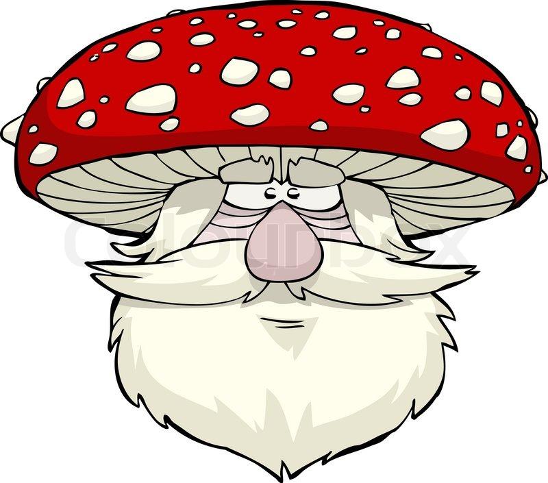 Маска грибок на голову на утренник