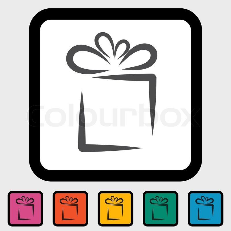 Vector Present Icon Gift icon: imgarcade.com/1/vector-present-icon