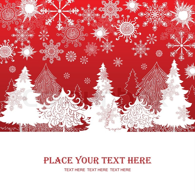 Christmas and new year red background xmas retro gift for Christmas ideas for christmas cards