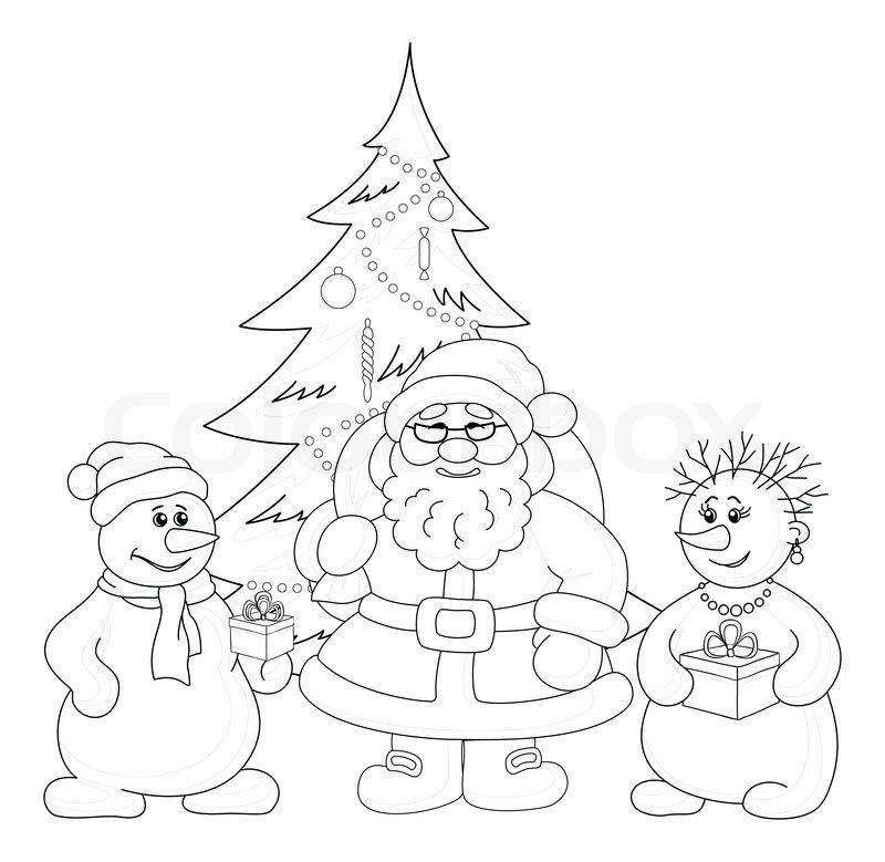 Merry Christmas Tree Outline Jerusalem House