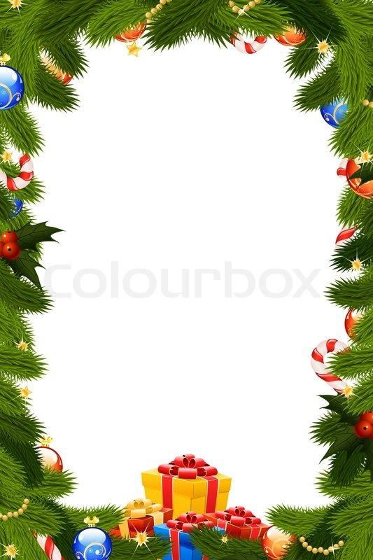 christmas frame stock photo colourbox Black and White Border Clip Art free educational clipart borders