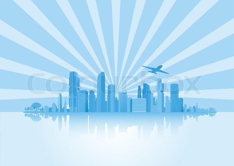 Big City ... | Stock vector | Colourbox