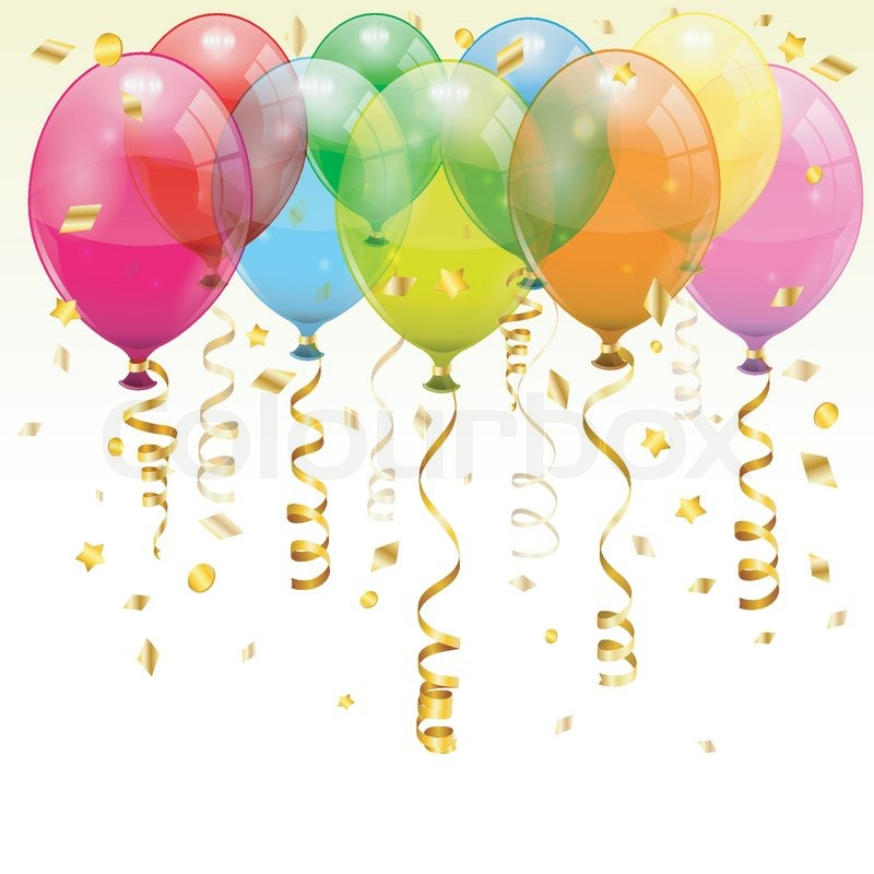 Image of 'Birthday Balloons'
