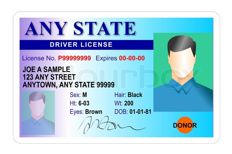 Image result for generic drivers licenses images