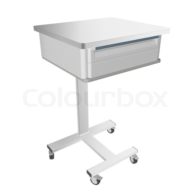 tables ac household bedside drawer com amazon health overbed with medical drawers b adjustable table