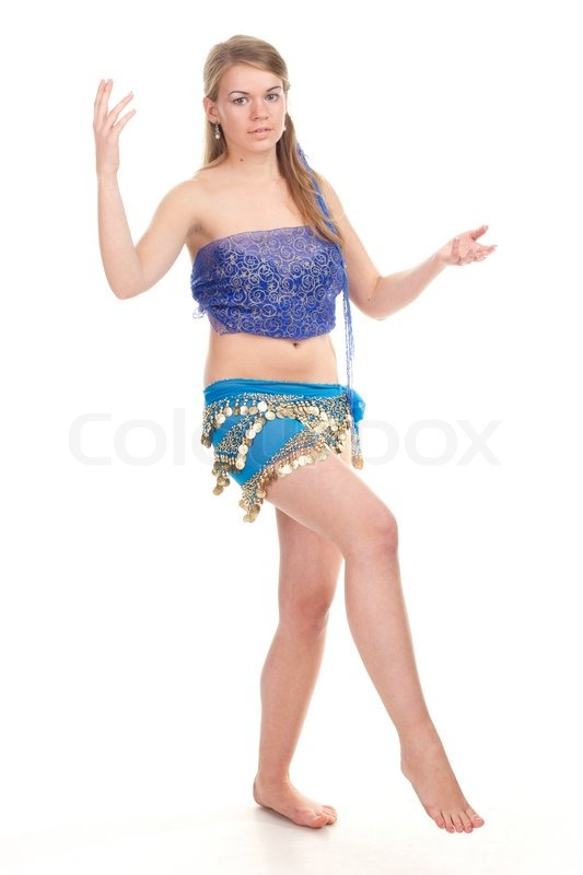 35e38395df938 Arabic dance performed by a beautiful ... | Stock image | Colourbox