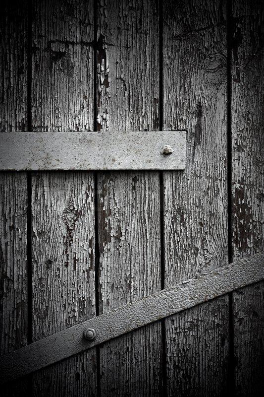 Dark Wooden Door Background Stock Photo Colourbox