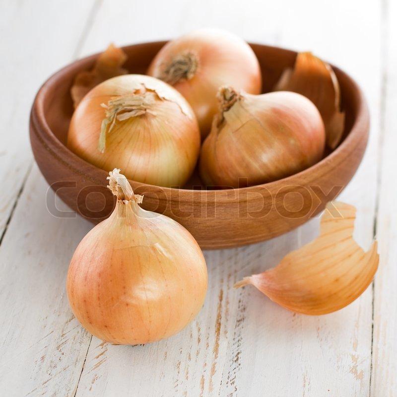 Onion, stock photo