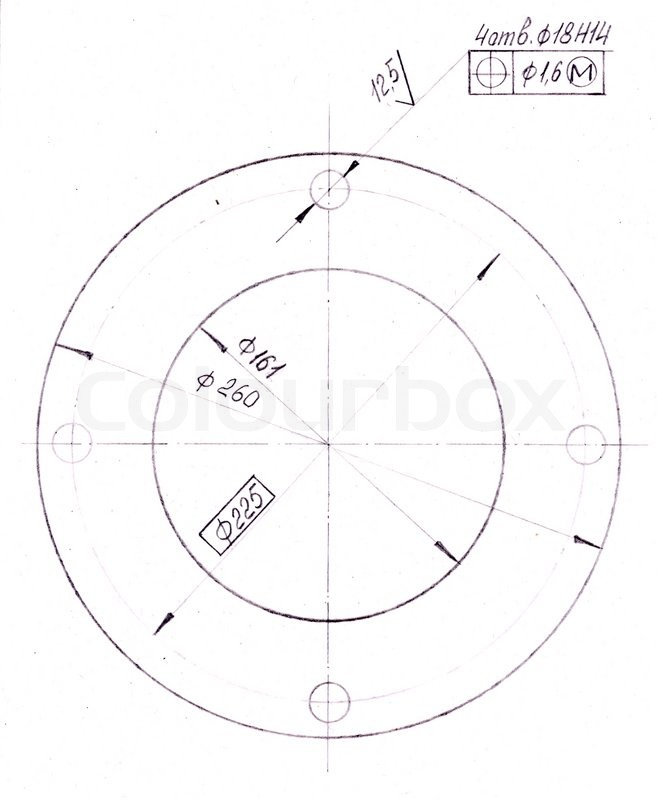 Mechanical Pencil Parts Diagram Drawing Of Mechanical Parts Made