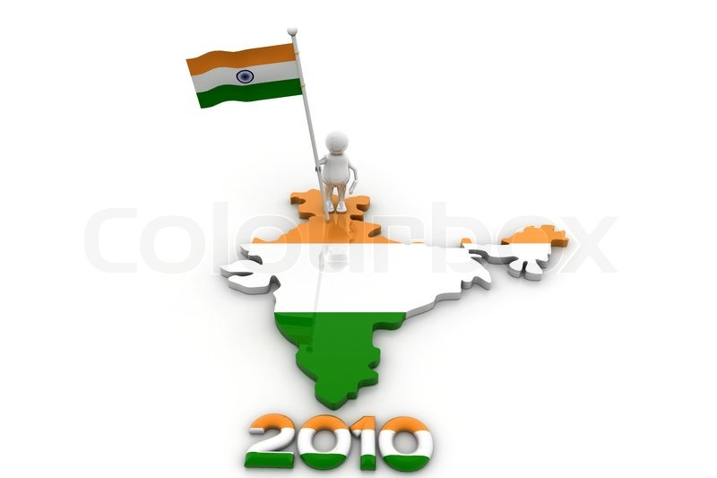 Person with Indian flag and map | Stock image | Colourbox on indian print with flag, indian map with key, indian man with flag, india flag,