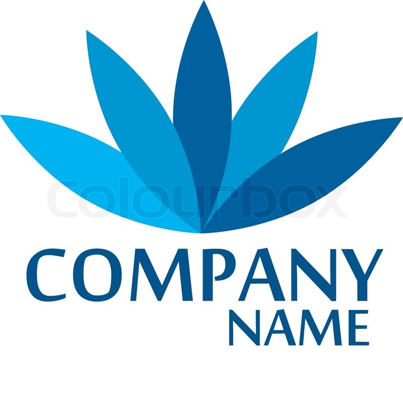 Company business logo design vector stock vector for The design company