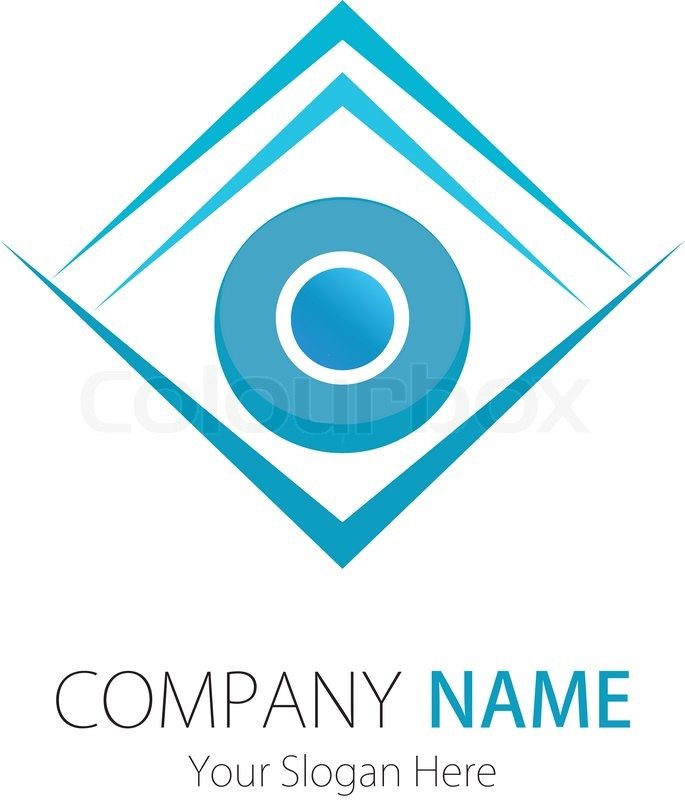 Company business logo design vector stock vector for The design company