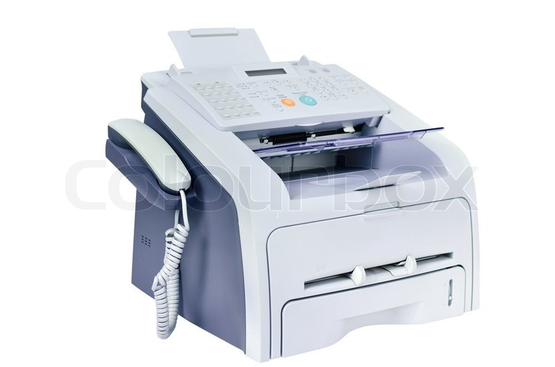 Buy Stock Photos of Fax Machine | Colourbox