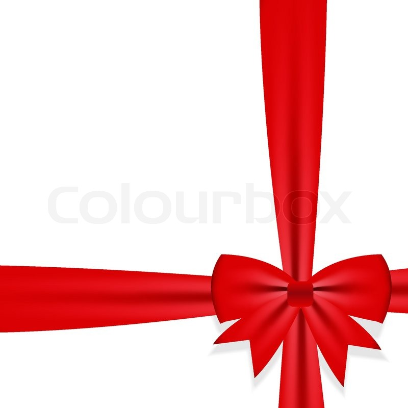Gift bow with ribbon vector illustration stock vector colourbox gift bow with ribbon vector illustration vector negle Image collections