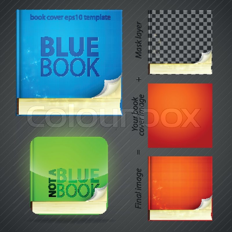Design Your Book Cover : Create your book cover icon emblem design set editable