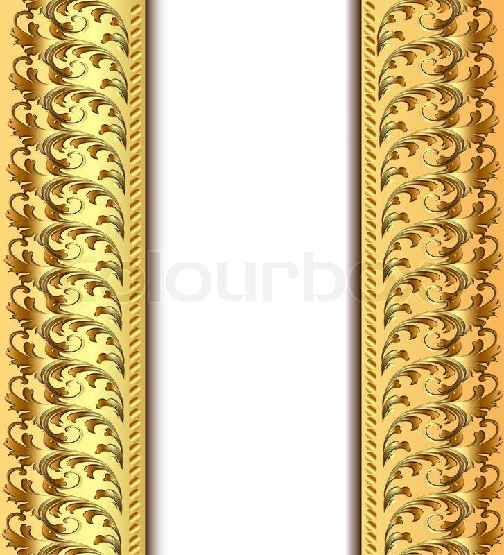 ornate gold frame border. Fine Ornate In Ornate Gold Frame Border