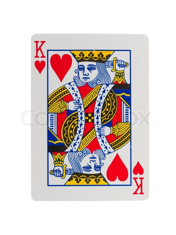 Old Playing Card King