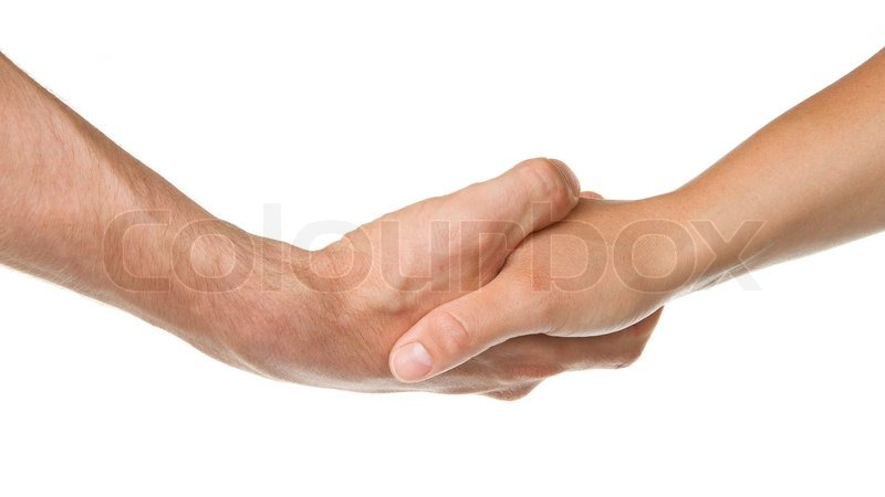 how to avoid shaking hands with a woman