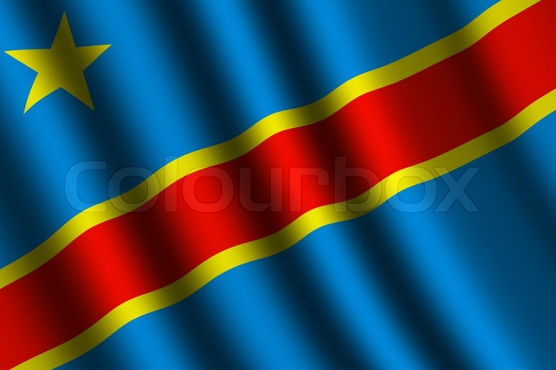 The Democratic Republic Of The Congo Flag Stock Photo Colourbox - Congo independence day