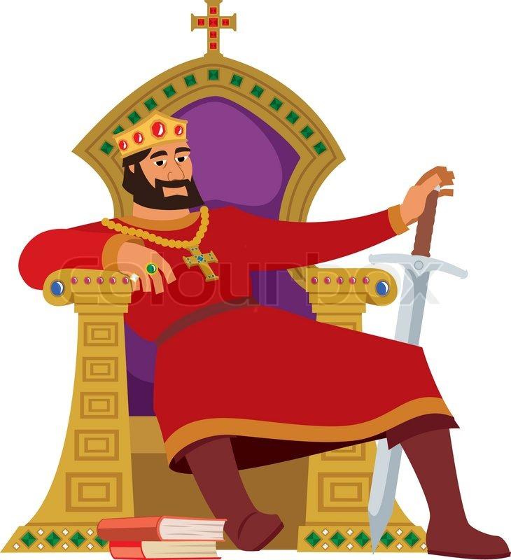 happy king on white stock vector colourbox fairy tale clip art pictures fairy tale clip art teachers