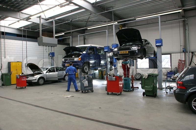Image result for car workshop