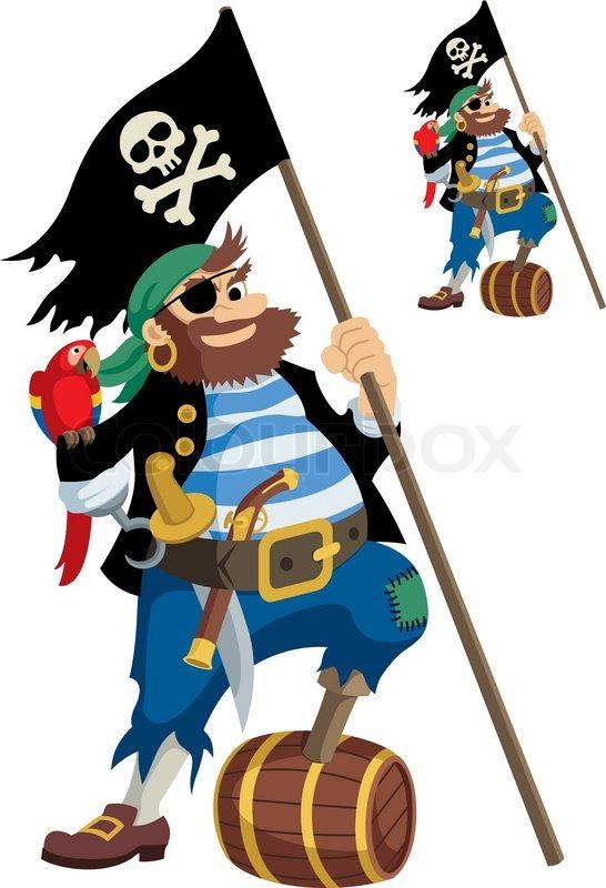Einäugiger Pirat