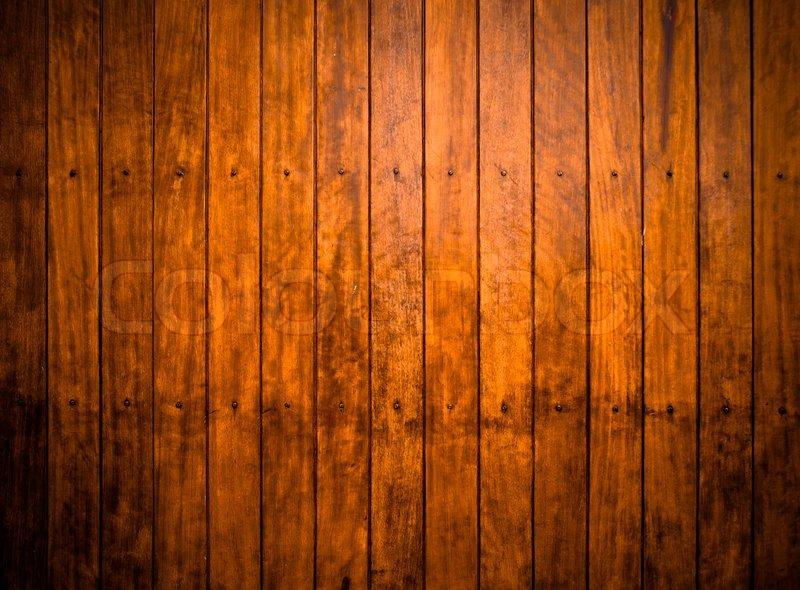 Weathered Wooden Door Texture Background Stock Photo