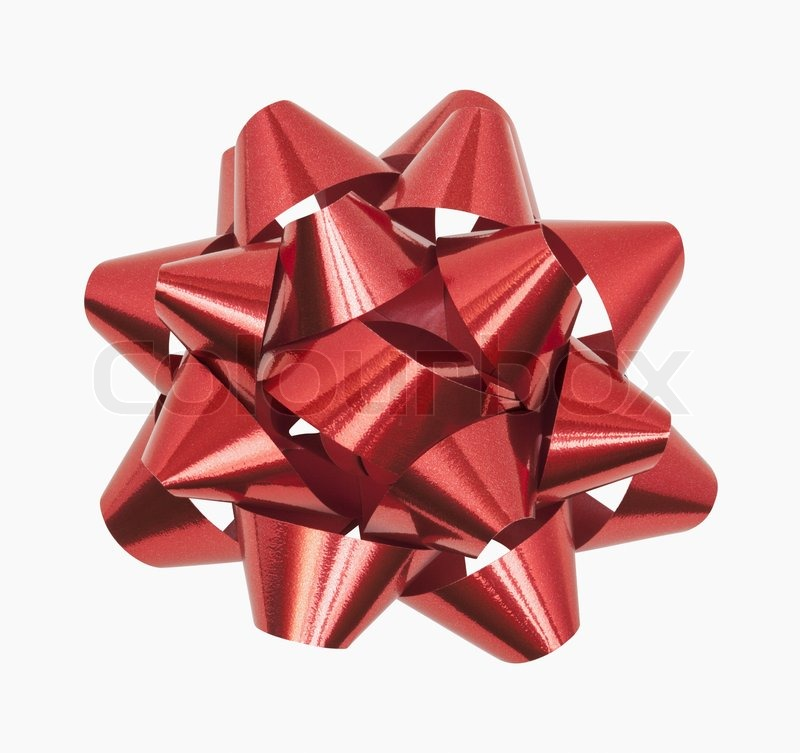 Red Bow, stock photo