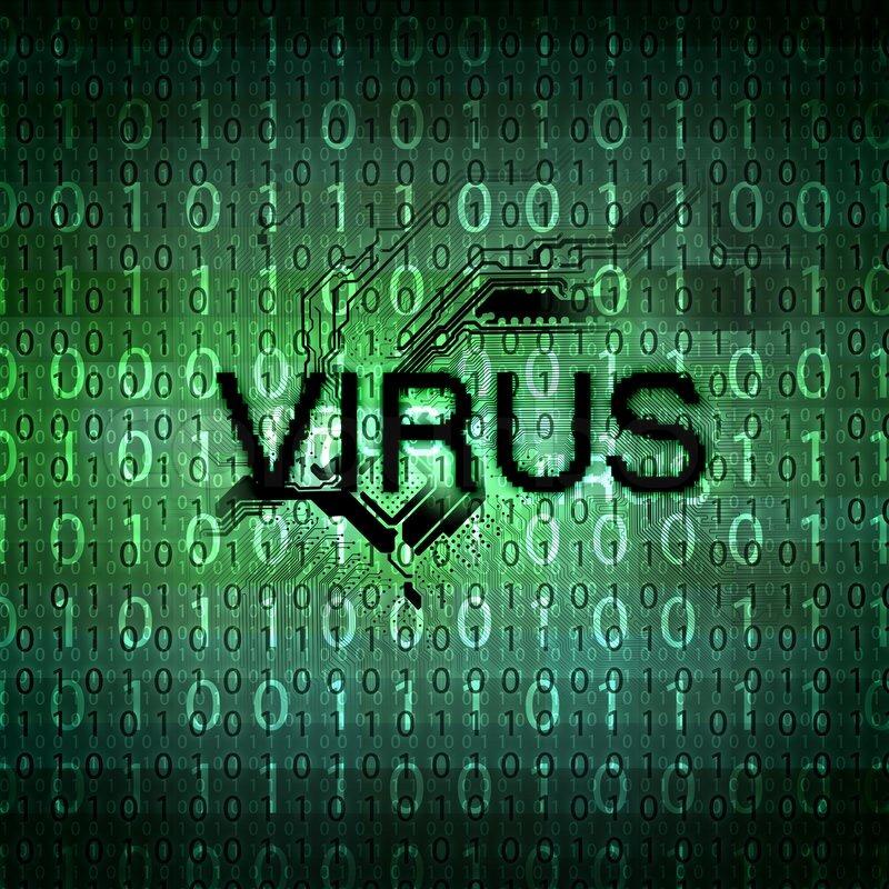 Computer Virus Symbol Stock Photo Colourbox