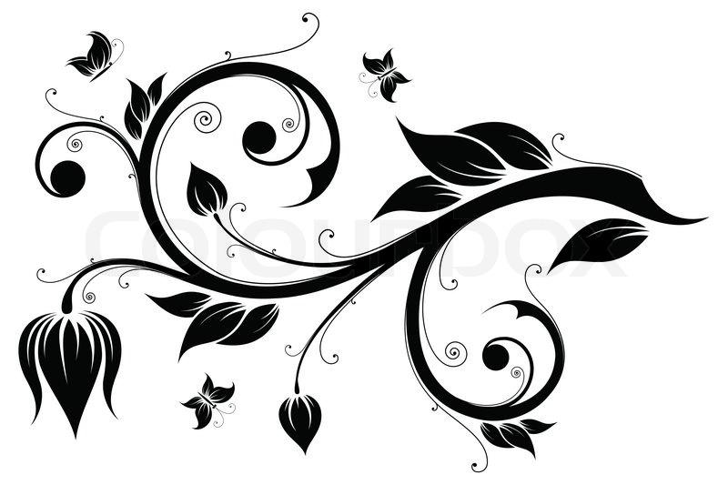 Enredadera Dibujo Decorativa Png