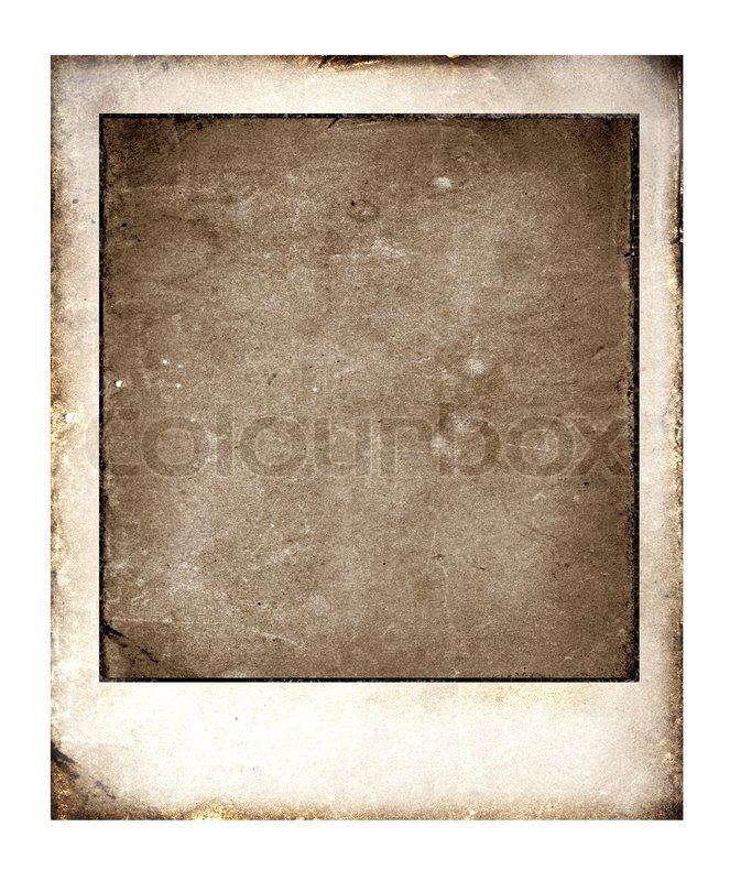 old polaroid stock photo colourbox