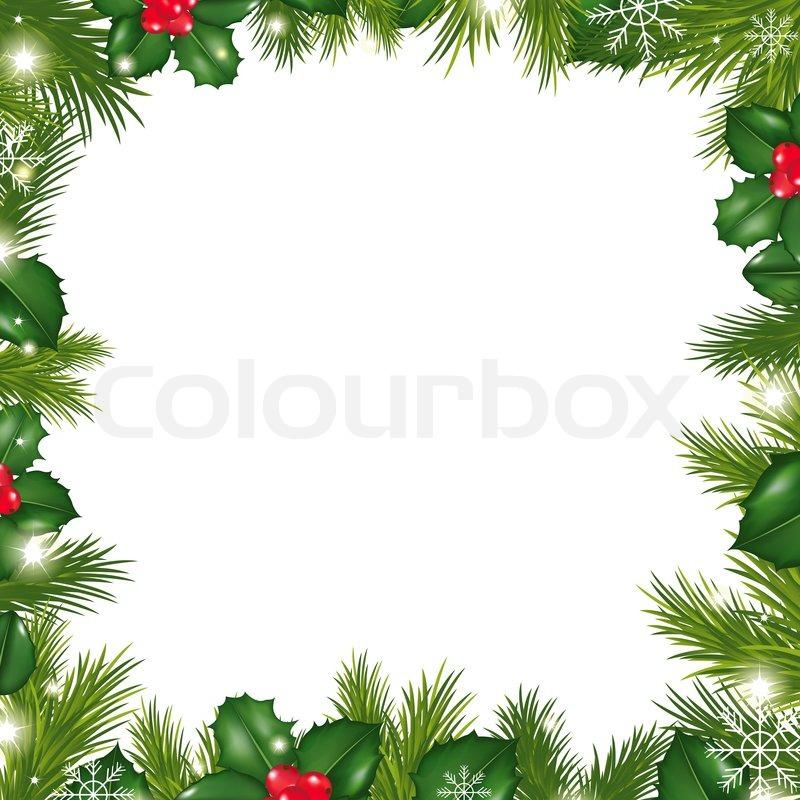 Jul, ramme, rammer   Stock Billede   Colourbox