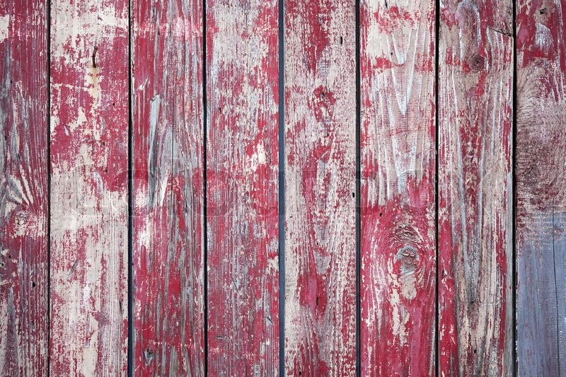 Old painted wood background stock photo colourbox - Red exterior wood paint plan ...