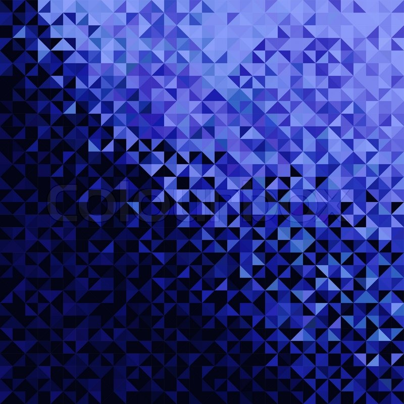 abstract lights blue black disco background pixel mosaic