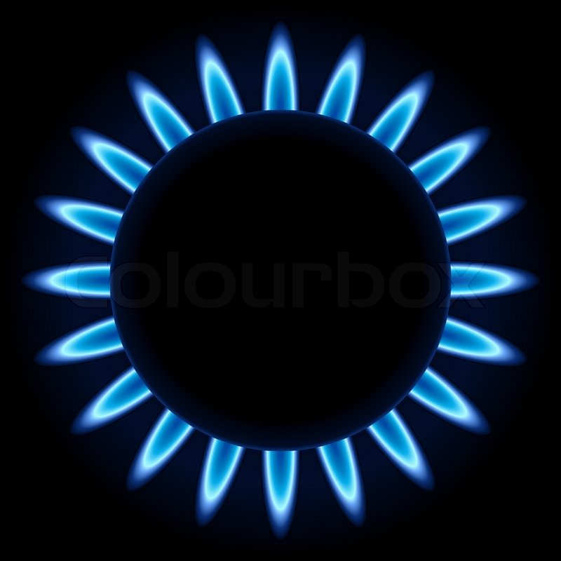 Blue Flame Kitchen: Blue Flames Ring Of Kitchen Gas Burner ...