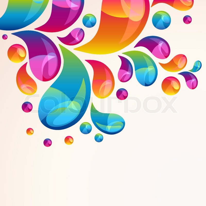 splash vector background cover template
